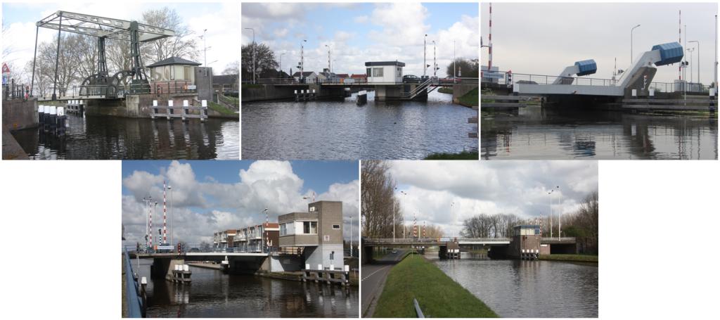 5 bruggen