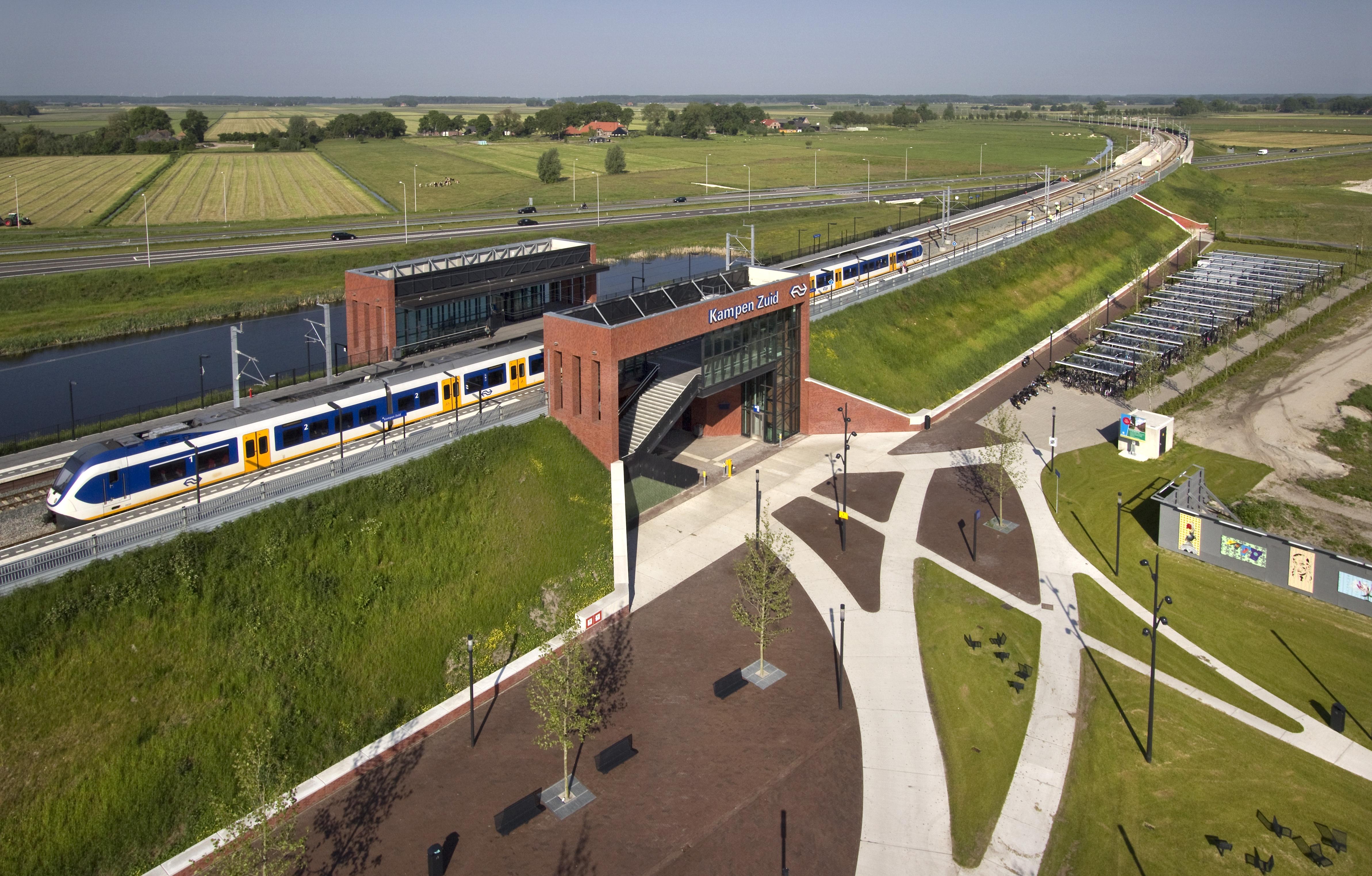Hanzelijn Station Kampen Zuid