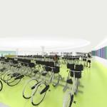 Mahler fietsenstalling interieur - Movares