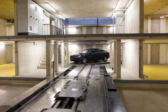 VAB parkeerberging Movares