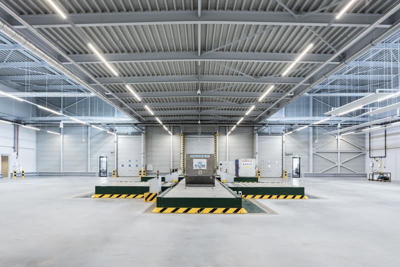 Joint Inspection Centre - Schipol Smartgate, JHK Architecten