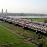 Waalbrug spoorbrug EEM-model