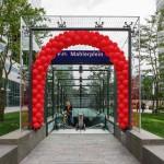 Mahlerplein-fietsenstalling-entree-Paul-van-der-Ree-studiosk movares